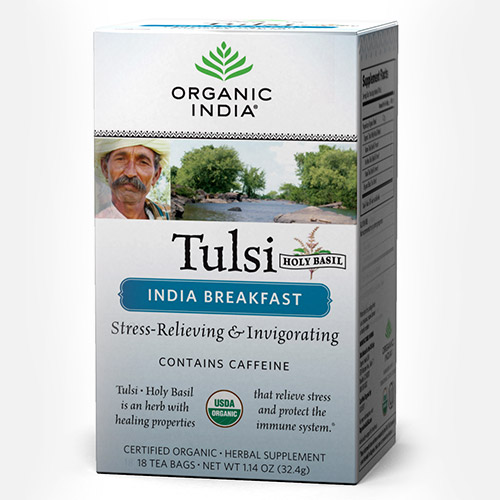 Tulsi Indian Breakfast Tea - Zakje (Organic India)