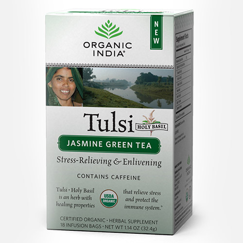 Tulsi Jasmine Green Tea - Zakje (Organic India)