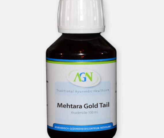 Mehtara Gold tail - Ayurvedische Massage olie
