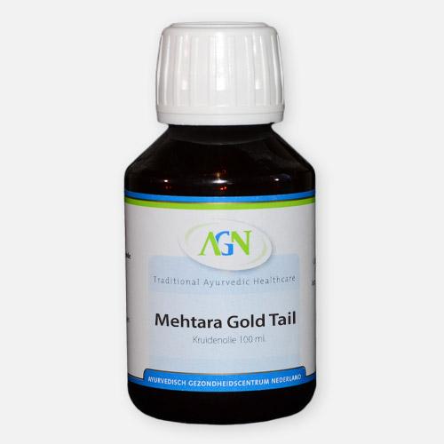 Mehtara Gold tail - Ayurvedische Massage olie